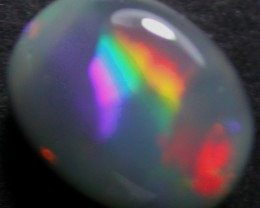 LOVELY LIGHTNING RIDGE BLACK OPAL.70 CTS   (3VI)