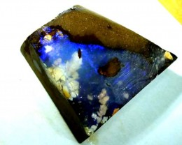 BOULDER OPAL ROUGH  L. RIDGE  37.9  CTS  DT-1849