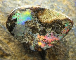 OPALLOVERS OPALS>13.80.cts $1nr BRIGHT FLASHY BOULDER OPAL