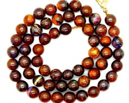 BOULDER  OPAL BEADS  DRILLED NECKLACE 160  CTS LO-290