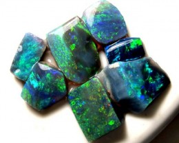 16.30 CTS QUALITY BLACK OPAL RUB L. RIDGE DT-7677