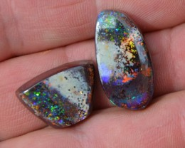 FREE SHIPPING! 49.00.cts AMAZING FLASHY  BOULDER MATRIX OPAL