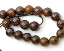 BOULDER  OPAL BEADS  DRILLED 35 CTS LO- 295   FREE PENDANT