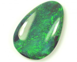 2.5ct Solid Lightning Ridge black opal