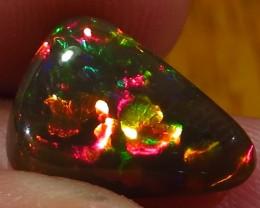 Rare! Ethiopian Welo Dark Polished Opal AAA 3.4cts #266