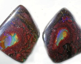 24.4 CTS YOWAH WELL POLISHED PAIR [SO1135 ]
