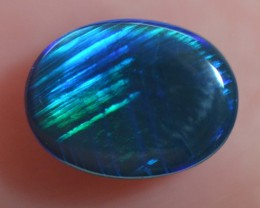 1.9 CTS BLACK OPAL CUT STONE L.RIDGE BK-106