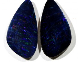 4.42 cts Australian Opal Doublet - Matched Pair (R2238)