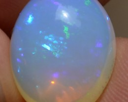 NR 7.60 Ct Natural Ethiopian Welo Opal Multi Play Of Color