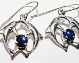DOUBLET EARRINGS DOLPHIN  [SOJ3801]