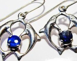 DOUBLET EARRINGS DOLPHIN  [SOJ3802]
