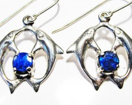 DOUBLET EARRINGS DOLPHIN  [SOJ3803]