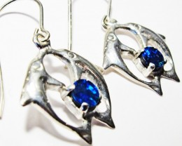 DOUBLET EARRINGS DOLPHIN  [SOJ3804]