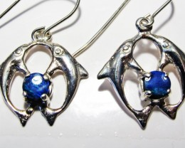 DOUBLET EARRINGS DOLPHIN  [SOJ3813]