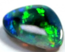 0.50 Cts  Freeform Black Opal QOM 1318
