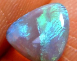 0.65 Cts Black  crystal Opal QOM 1323