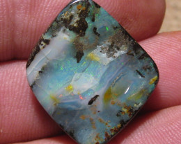 OpalWeb - Miners WholeSale Opals - 27.10Cts - Drilled.