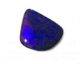 2ct Black Opal Lightning Ridge