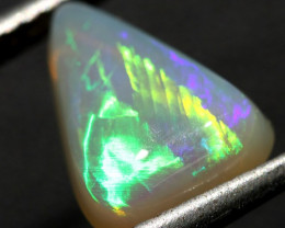 2.39 cts Nice Rolling Flash Solid Crystal Opal - Australia (R2300)