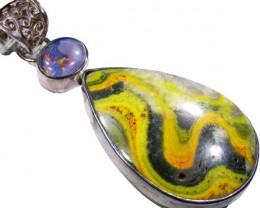 Triplet Gemstone Pendant