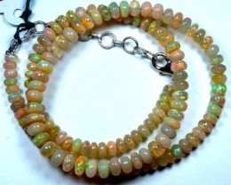 56   CTS  ETHIOPIAN OPAL BEADS DRILLED    FOB-131