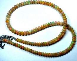 58  CTS ETHIOPIAN OPAL BEADS DRILLED     FOB-136