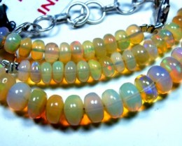 52  CTS   ETHIOPIAN OPAL BEADS DRILLED    FOB-137