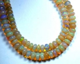 60 CTS  ETHIOPIAN OPAL BEADS DRILLED      FOB-148