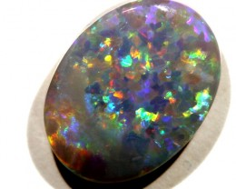 1.78 CTS SOLID DARK OPAL LIGHTNING RIDGE [Q1519
