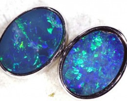 OPAL EARRINGS  4.6  CTS    OF-347