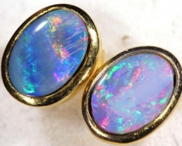 OPAL SILVER  EARRINGS 6.0   CTS    OF-364