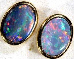OPAL   EARRINGS  5.8  CTS    OF-375
