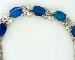 OPAL INLAY BRACELET 48.3 CTS OF-378