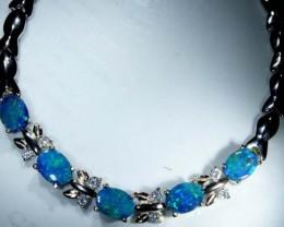 Opal Doublet Bracelet
