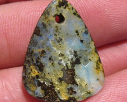 OpalWeb-Miners WholeSale Opals - 27.25Cts - Drilled.