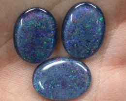 MATCHING SET OF TRIPLET OPALS   FO459