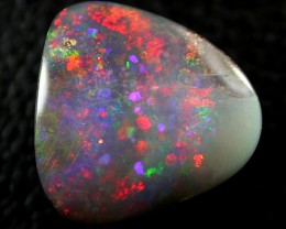 STUNNING SUNSET RED FIRE BOULDER OPAL FIRE 1.65 CTS H242
