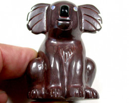 HAND CARVED KOALA FROM IRONSTONE BOULDER 545 CTS KO165