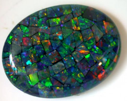 LARGE MOSAIC OPAL AA   24 X18 MM   ML 237
