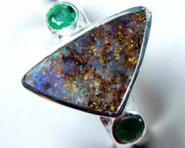 29.0 CTS BOULDER OPAL RING    TBO-1455