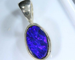 DOUBLET OPAL SILVER PENDANT 5.5   CTS   OF-414