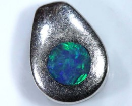 OPAL SILVER INLAY PENDANT 4.0 CTS  OF-438