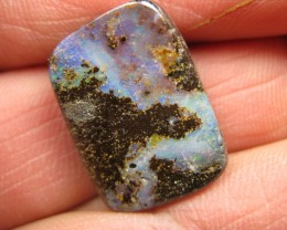 C/O.23cts,DRILLED WHOLESALE BOULDER OPAL.