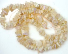 WHITE OPAL STRAND 70.0  CTS   LO-784