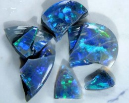 BLACK OFF CUTS OPAL ROUGH  9.70   CTS DT-1974