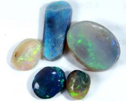 BLACK RUBS-OPAL ROUGH 8.75  CTS DT-1976