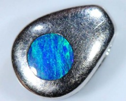 OPAL SILVER INLAY PENDANT 4.0 CTS  OF-449