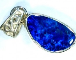DOUBLET OPAL SILVER PENDANT 6.8  CTS   OF-462