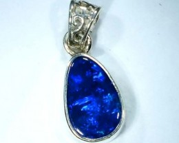 DOUBLET OPAL SILVER PENDANT 7.5  CTS   OF-468