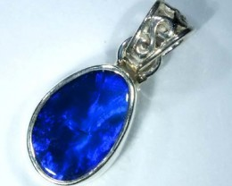 DOUBLET OPAL SILVER PENDANT 7.5  CTS   OF-474